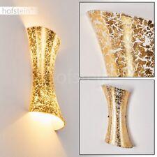 Licht Effekt Wohn Schlaf Zimmer Glas Wand Lampen Flur Dielen Leuchten goldfarben