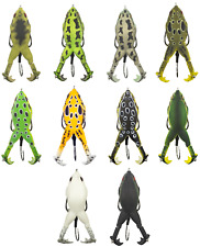 Lunkerhunt Prop Frog 3 1/4 inch Hollow Body Frog Bass Fishing Surface Lure