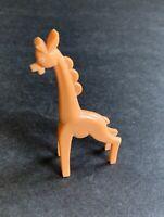 Vintage NOSCO Don Manning Animal Toy Orangish GIRAFFE Art Deco Stylized Figurine
