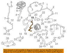 AUDI OEM 10-12 R8 5.2L-V10 Cooling-Connector Tube 420121481B