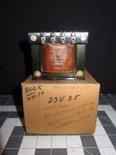 New listing Nos Thordarson Control Transformer 23V35, 23 v 35 (#3956)