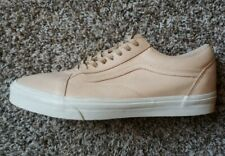 Van's Mens Size 13 Nude Pink Leather UltraCush Shoes