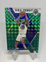 Eric Paschall 2019-20 Panini Mosaic NBA Debut Green Prizm Rookie RC
