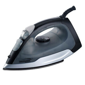 Brentwood Full Size Steam / Spray / Dry Iron in Black and Gray