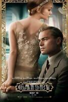 The Great Gatsby Movie POSTER 27 x 40 Leonardo DiCaprio, Joel Edgerton, B