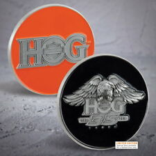 HARLEY-DAVIDSON® 35TH ANNIVERSARY HOG CHALLENGE COIN 115TH