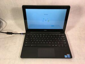 """Dell Chromebook 11 CB1C13 11.6"""" Intel i3 1.7GHz 4GB RAM 16GB SSD Chrome OS -RR"""