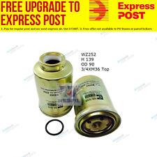 Wesfil Fuel filter WZ252 fits Toyota Hilux 2.4D 4x4 (LN/RN/YN),2.4D RWD (LN/R