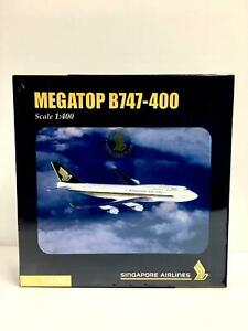 Herpa 1:400 Singapore Airlines BOEING 747-400 560337