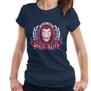 Casa De Papel Money Heist Crest Women's T-Shirt