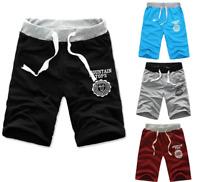 Men Cargo Sport Shorts Pants Casual Summer Beach Joggers Plain Half Trousers