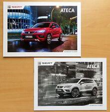 1730) Seat Ateca FR Xcellence Style + Preisliste Prospekt brochure Katalog 2017