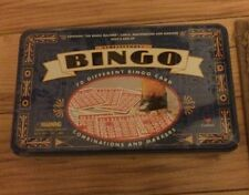 Sealed Collectors Bingo In A Tin