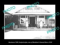 OLD LARGE HISTORIC PHOTO OF DAVISTOWN NSW, GOSFORD, THE GENERAL STORE c1930