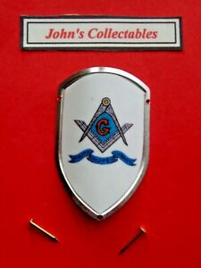 SQUARE&COMPASS MASONIC WALKING / HIKING STICK BADGE / MOUNT  LOT M NEW IN PACKET