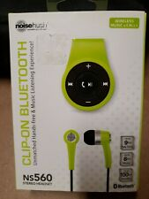 Noisehush Bluetooth Wireless Headset for iPhone Music & Calls NS560 Green