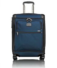 Tumi Alpha 2 Continental Front Lid Expandable 4 Wheel Carry-On 22561 Navy Black