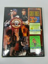 Vintage Guns N' Roses ticket backstage pass framed photo German Use Your Illusio