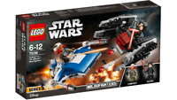 LEGO 75196 A-Wing™ vs.TIE Silence™ Microfighters - STAR WARS 6-12