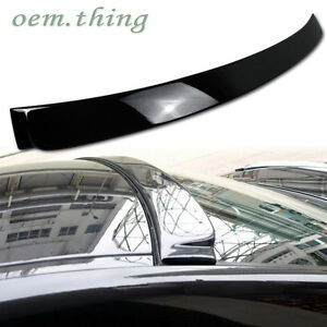 06-11 330iFit For BMW E90 3-Series Sedan Roof Spoiler A Type ABS Painted #668