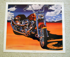 """Signed Eric Herrmann Print """"Time Out"""" 20"""" x 24"""" NEW"""