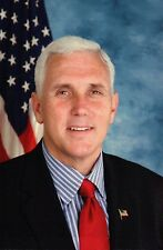 Mike Pence 48th Vice President of the United States Gov. Indiana Modern Postcard