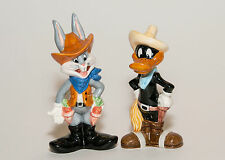Bugs Bunny & Daffy Duck As Coboys Salt & Pepper Shakers