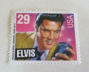 1992 - Elvis Presley - Rock and Roll Singer Postage Stamp - United States