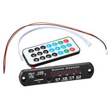 CAR Bluetooth MP3 WMA Decodificador Placa 12V Wireles Audio Module USB TF Radio