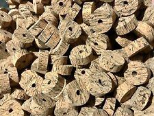 "Cork Rings 36 Wave Burl  #2 ,  1 1/4"" x 1/2"" x 1/4"" Hole"