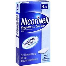 NICOTINELL Kaugummi Cool Mint 4 mg   24 st   PZN6580369