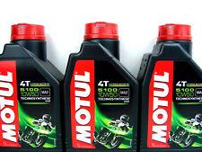 Motul 5100 10W50 4T Huile de moto moteur 4-Takt L'HUILE première noyau 3 x 1 L