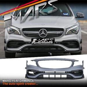 AMG CLA45 Style Front Bumper Bar & Carnard for Mercedes-Benz CLA Class C117 X117