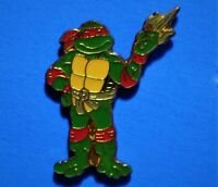 TEENAGE MUTANT NINJA TURTLES - RAPHAEL - VINTAGE LAPEL PIN - HAT PIN - PINBACK