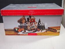 """Dept. 56 Heritage Village Christmas in the City """"SCOTTIE'S TOY SHOP GIFT SET"""""""