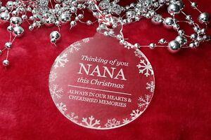 Thinking Von Du Oma - Weihnachten, Baum, Spielerei, Dekoration