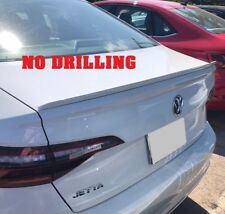 FOR 2019 VW VOLKSWAGEN JETTA PAINTED REAR SPOILER - MADE IN USA - NO DRILLING