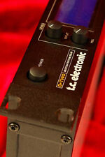 Best! TC Electronic D-TWO 10 Tap RHYTHM DELAY DELUXE + Reverse More *COMPLETE!*
