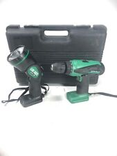 Hitachi DS18DVB Cordless Drill, Worklight UB18D
