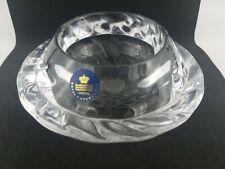 Royal Copenhagen crystal candle holder, Denmark