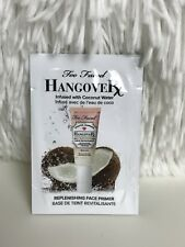 New Sample of Too Faced Hangover Face Primer, Skincare, Free U.S. Shipping