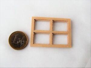 bloxxs F-06 Holz Fenster LGB SpurG 1:22,5 Modellbau Gebäude Haus Diorama