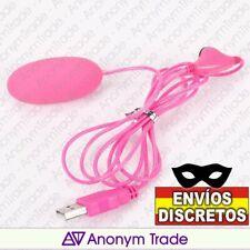 Vibrador bola regulable.Huevo USB control remoto.Consolador masturbador vaginal.