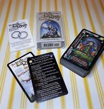 LORD OF THE RINGS TAROT DECK CARDS & CARD GAME. CARDS IN MINT CONDITION