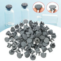 100X Rubber Stoppers Self Healing Injection Port Inoculation For 13/20mm Opening