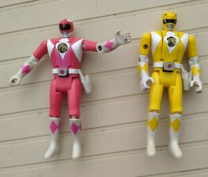figurines Power rangers mighty morphin Trini Kimberly Bandai 1993 sentai auto