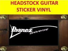 IBANEZ UNIVERSE WHITE SEVEN STRINGS STICKER VINYL VISIT OUR STORE WITH + MODELS