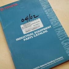 Toyota 7fb 7fbcu 7fbchu 15 18 20 25 30 32 Forklift Parts Manual Book Catalog 840