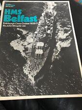 Warship Profile 29: HMS Belfast, Edinburgh Class Cruiser, 1939-1971 UK NAUTICAL