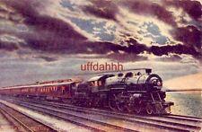 "The Twentieth Century Limited Leaving Chicago ""Woman's World"" magazine"